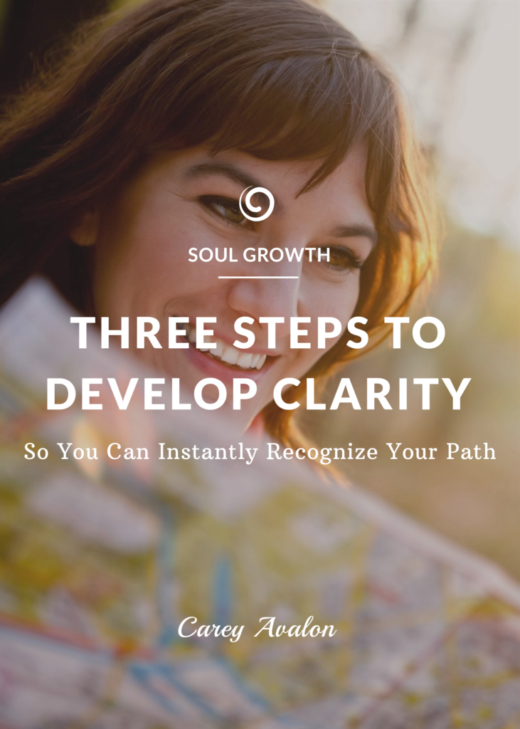 three steps to develop clarity