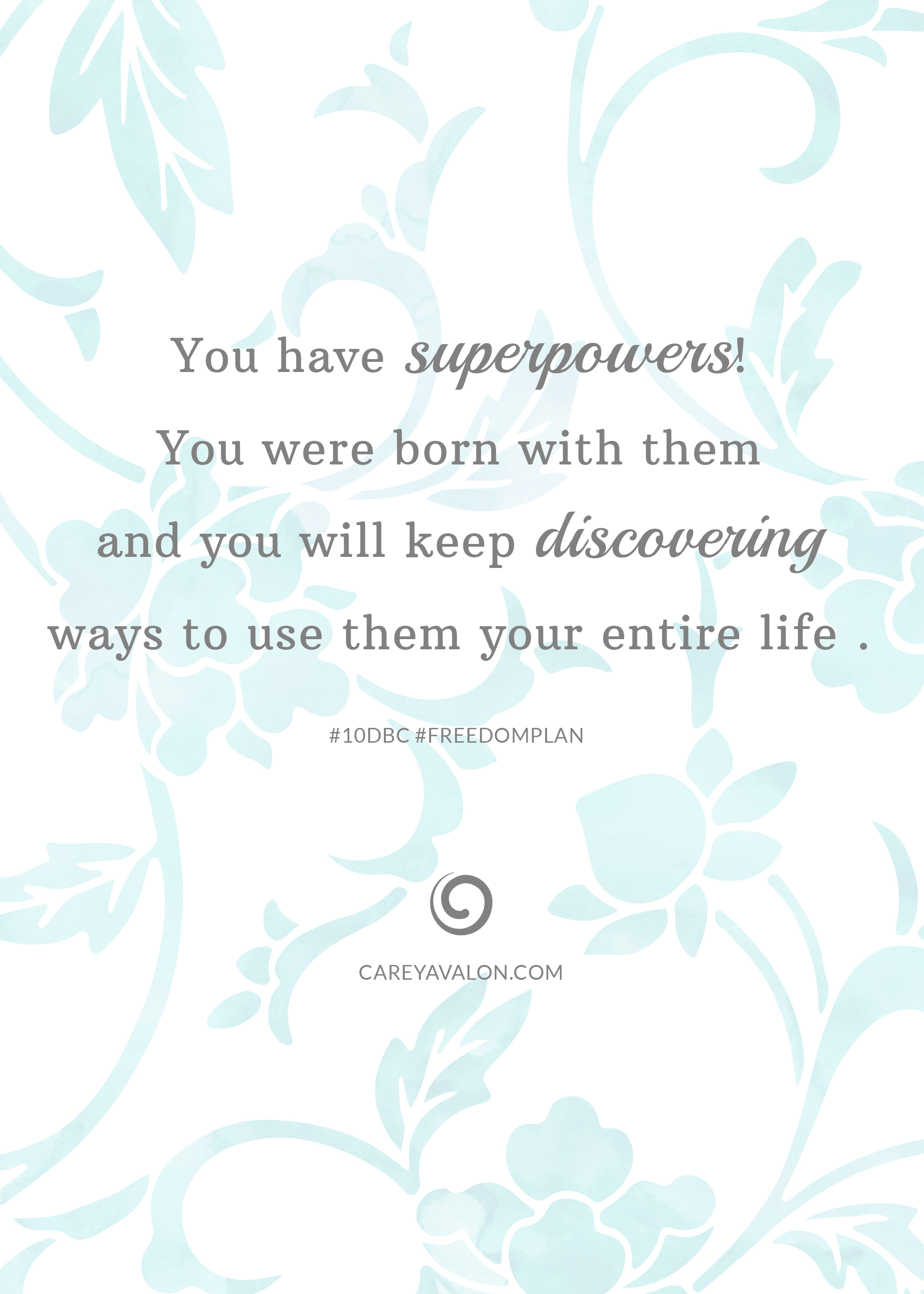 Unlocking Your Superpowers